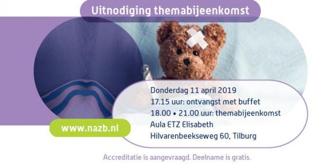 11 april themabijeenkomst hersenbloeding bij kinderen