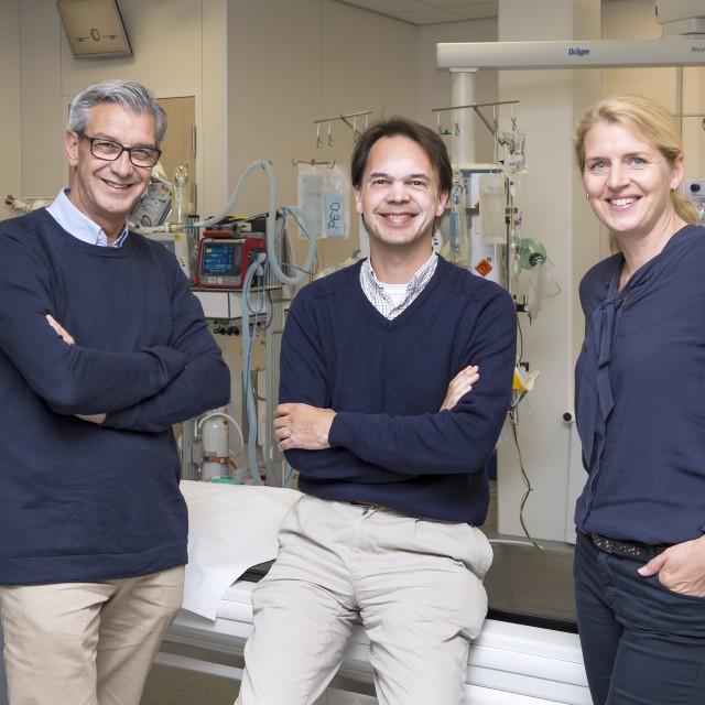 V.l.n.r.: Koos Keijzer, Michel Remmers en Julia van Tuijl