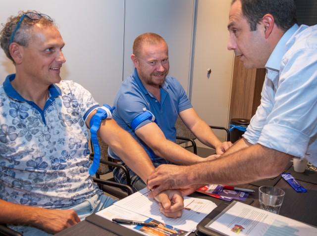 Eerste seniorinstructeurs cursus 'Stop de bloeding' opgeleid